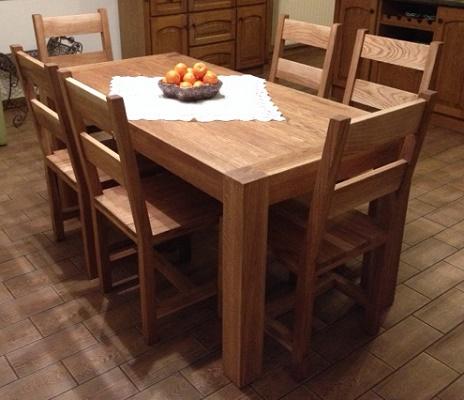 Nalata Meble Drewniane Galeria Stół Drewniany Z Krzesłami