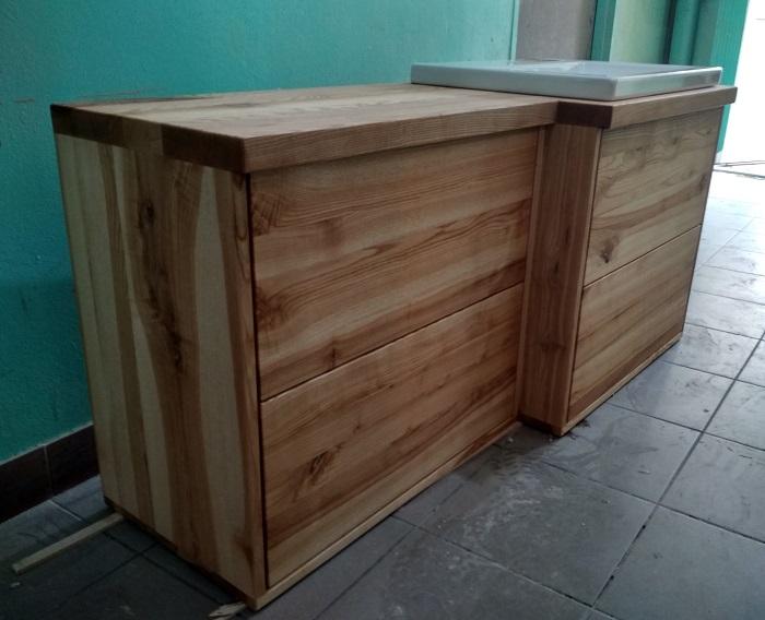 Nalata Meble Drewniane Galeria Jesionowa Szafka Do łazienki